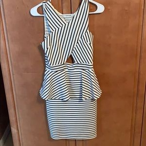 Charlotte Russe stripped tight dress !!!